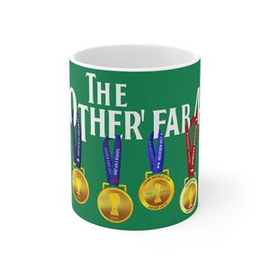 The Other Fab 4 - Champions 19/20 Mug (White Text on Green)