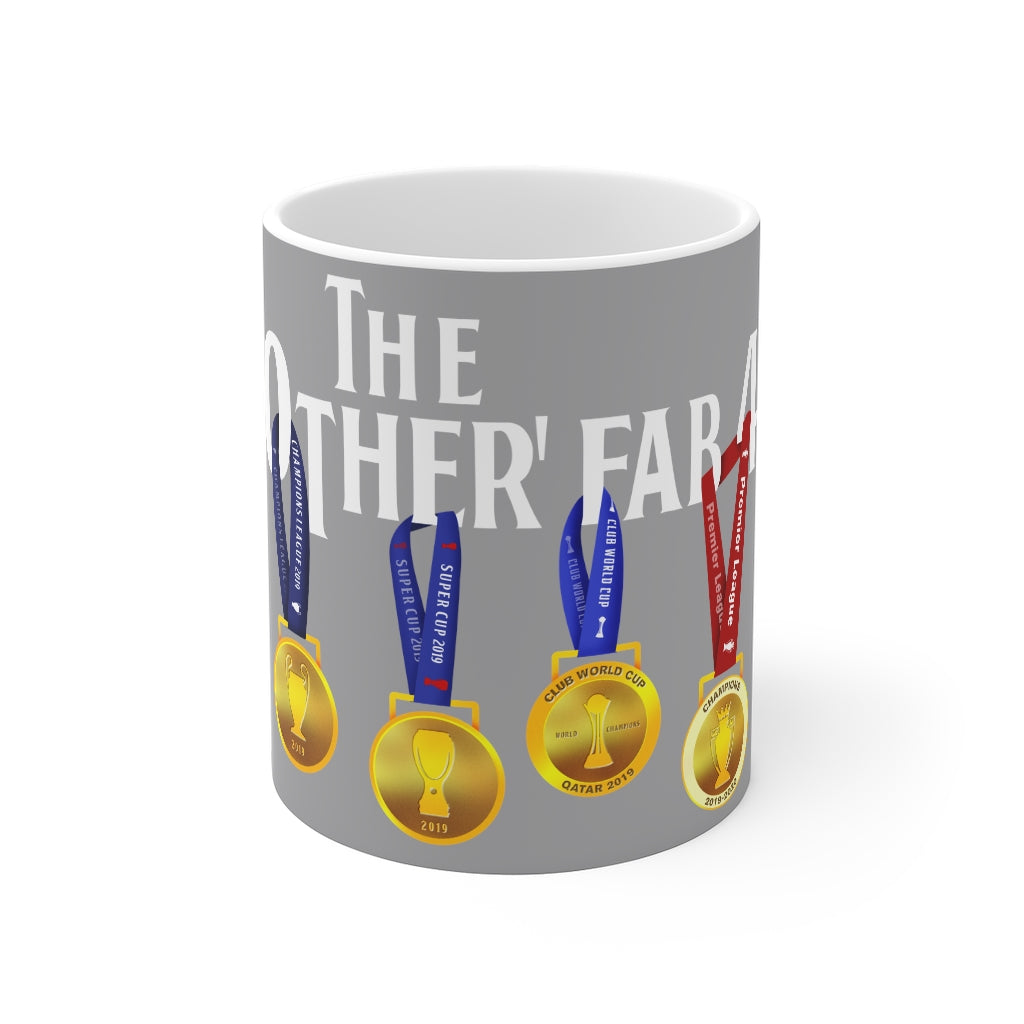 The Other Fab 4 - Champions 19/20 Mug (White Text on Grey)