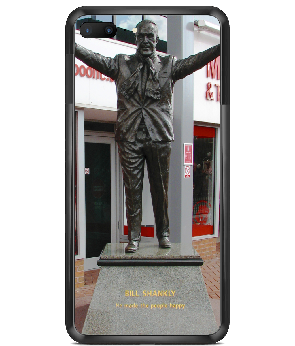 Premium Hard Phone Cases - Shankly Statue at Anfield