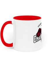 Load image into Gallery viewer, Champions 19/20 - Two Toned Ceramic Mug (Red/Black)