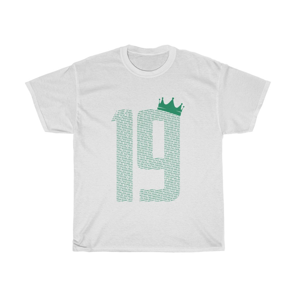19 Crown - Champions 19/20 - Green Font