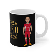 Load image into Gallery viewer, Maestro - Thiago Alcantara Caricature Mug (Black Background)