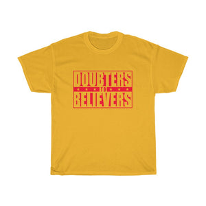 Doubters To Believers - Red