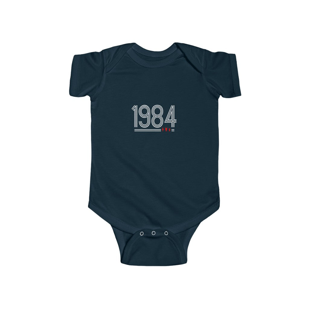 Retro 1984 - White Text (Baby)