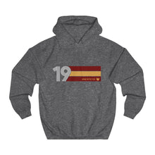 Load image into Gallery viewer, Undisputed 19 (On Red) - Unisex College Hoodie
