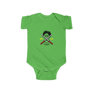 Scouse Samurai - Black Text (Baby)