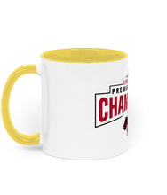 Load image into Gallery viewer, Champions 19/20 - Two Toned Ceramic Mug (Red Text)