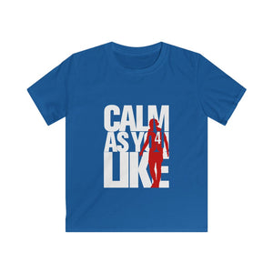 Calm As You Like - White & Red (Kids)