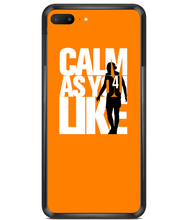 Load image into Gallery viewer, Premium Hard Phone Cases - Calm As You Like (White)