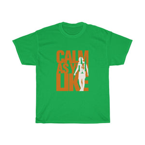 Calm As You Like - Orange & White