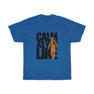 Calm As You Like - Black & Orange