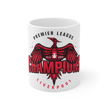 Load image into Gallery viewer, Champions 19/20 Big Bird Mug (Black & Red Print)