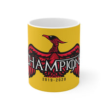 Load image into Gallery viewer, Copy of Champions 19/20 GOT Mug (Black & Red Print)