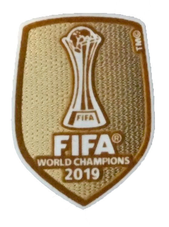 Club World Cup Gold Badge - 2019 Version (Liverpool FC)