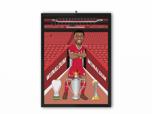Georginio Wijnaldum - Liverpool 20/21 Caricature Illustration Print - A3, A4 or A5