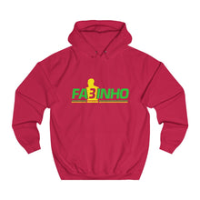Load image into Gallery viewer, FA3INHO - Green Stripe - Unisex College Hoodie