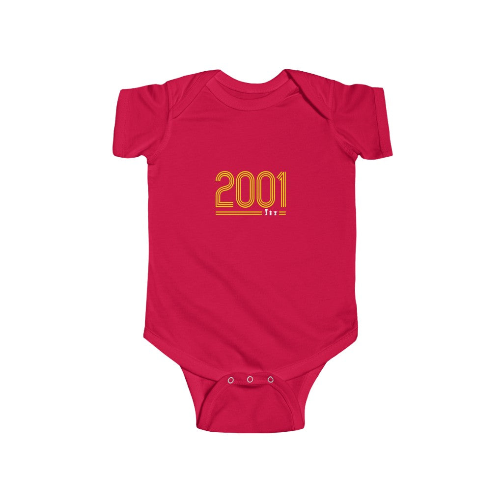 Retro 2001 - Yellow Text (Baby)