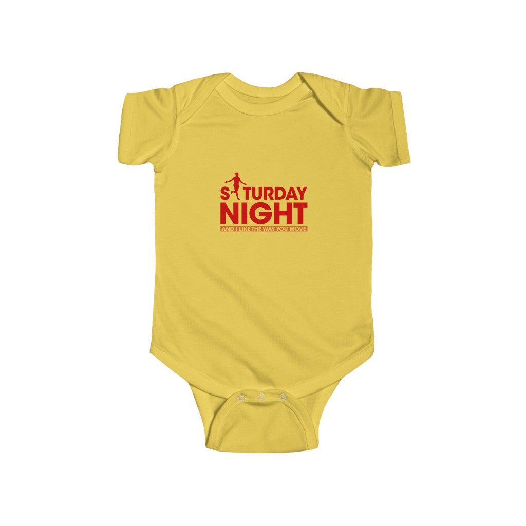 Saturday Night - Red Text (Baby)
