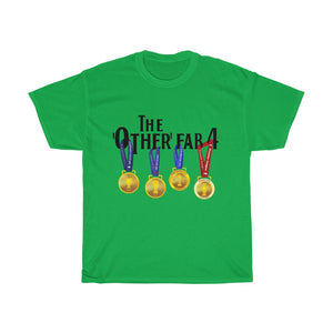 The Other FAB 4 - Black Font - Unisex T-Shirt