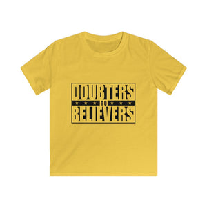 Doubters To Believers - White Text (Kids)