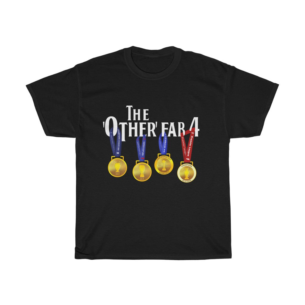 The Other FAB 4 - White Font - Unisex T-Shirt