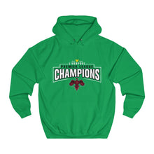 Load image into Gallery viewer, Champions 19/20 - Small Bird - Red - Unisex College Hoodie