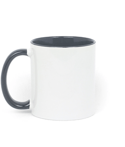 Champions 19/20 - Two Toned Ceramic Mug (Red/Black)