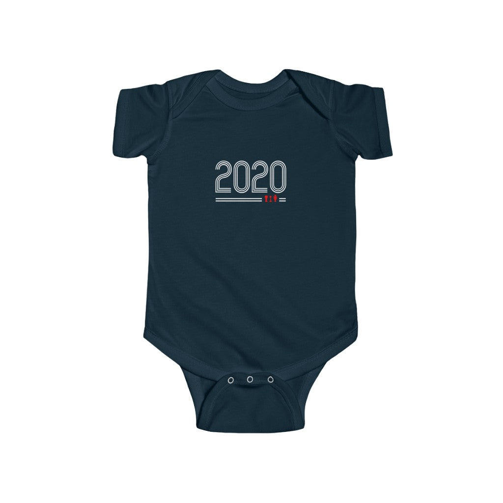 Retro 2020 - White Text (Baby)
