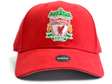 Load image into Gallery viewer, Liverpool Basic Crest Baseball Cap Red