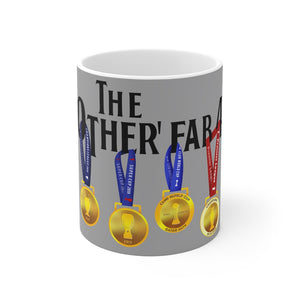 The Other Fab 4 - Champions 19/20 Mug (Black Text on Grey)