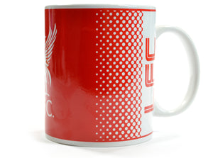 Liverpool Fade Design Boxed Mug
