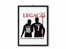 Load image into Gallery viewer, Ronaldo Fernandes Legacy Print (Black Image) - A3, A4 or A5