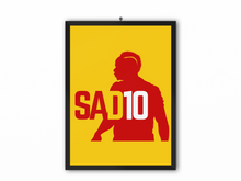 Load image into Gallery viewer, SAD10 Print (Red/Yellow) - A3, A4 or A5
