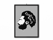 Load image into Gallery viewer, Egyptian King Print (Black/White Image) - A3, A4 or A5