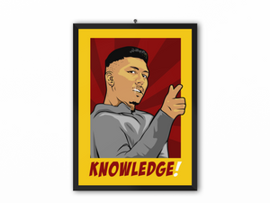 Knowledge Print (Bobby) - A3, A4 or A5