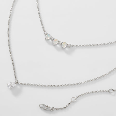 VANESSA DOUBLE ROW NECKLACE