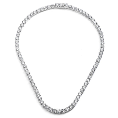 CZ CLASSIC TENNIS NECKLACE