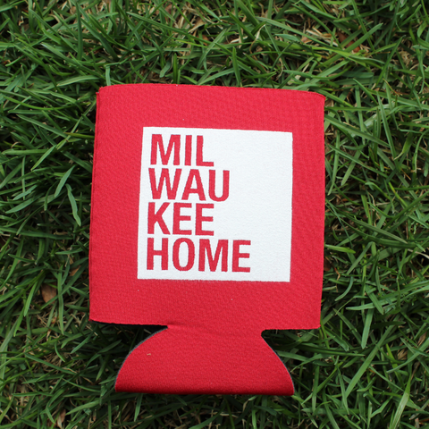 MKE Home Leather Travel Mug
