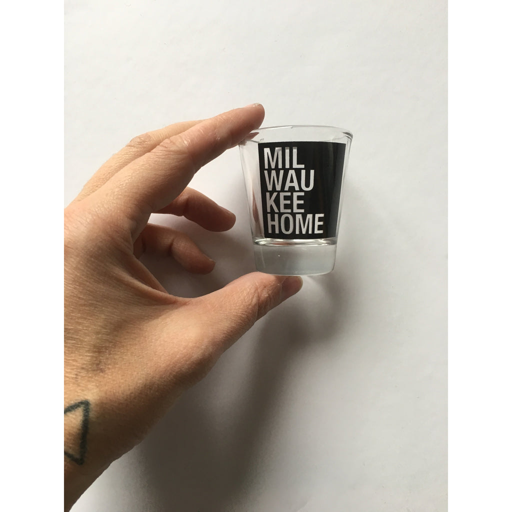 Milwaukee Home Shot Glass
