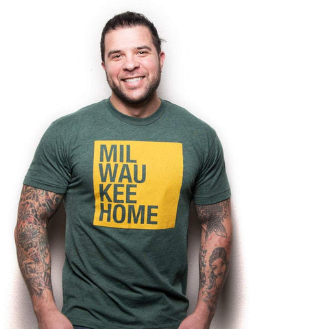 Milwaukee Home/414 T-Shirt