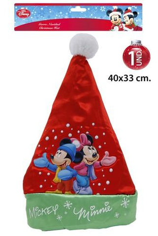 Kerst Muts Mickey en Minnie Mouse