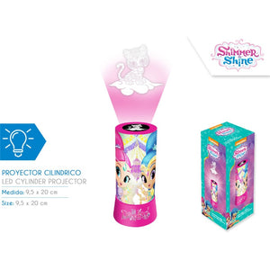 Nachtlamp Shimmer en Shine met projectie (led)