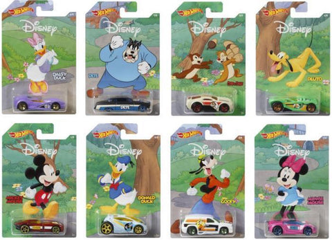 Hot Wheels Mickey & Friends voertuigen