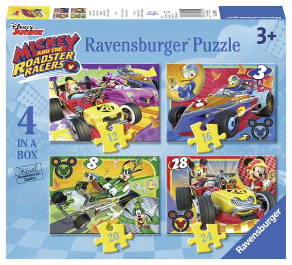 Ravensburger puzzel Mickey and the Roadster racers