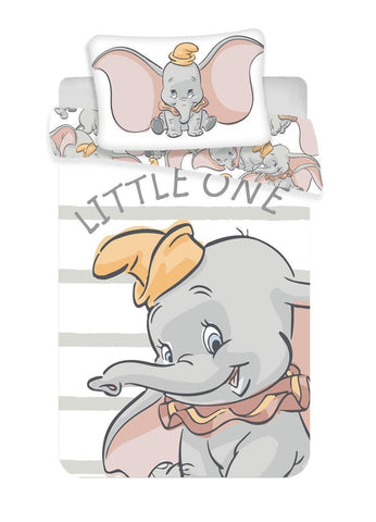 Disney Dumbo Little One BABY Dekbedovertrek - 100x135 cm