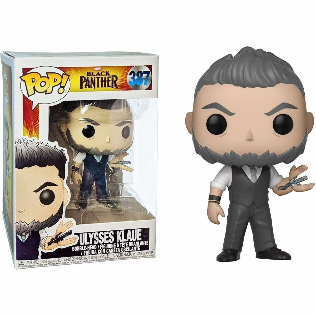 Funko POP! Marvel Black Ulysses Klaue (387)