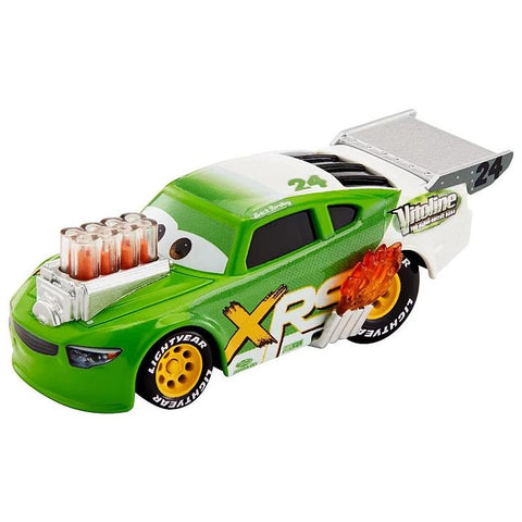 Disney Cars race auto - drag racing XRS - Brick Yardley