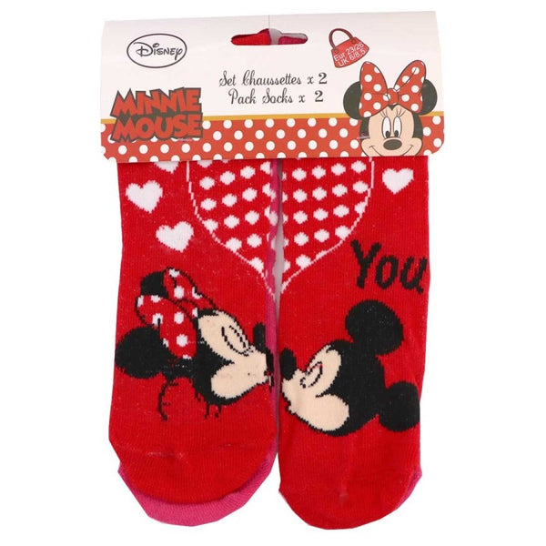 2-pack sokken Minnie Mouse