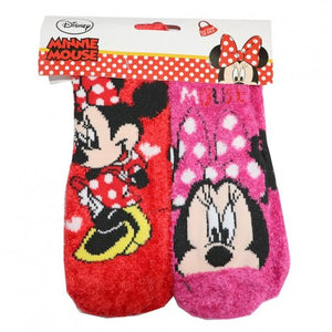 2-pack sokken antislip Minnie Mouse