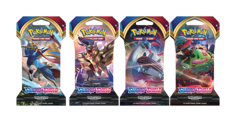 Sword & Shield Pokemon Sleeved Boosterpack